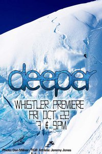 Jeremy Jones Deeper TGR Movie Whistler